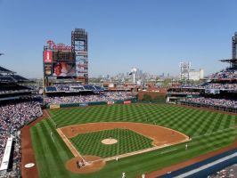 Citizens Bank Park by KennethSnow