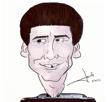 Jim Carrey Caricature by HJacobi