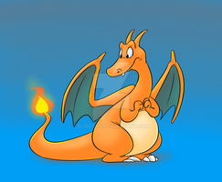The Reluctant Charizard by Eligecos