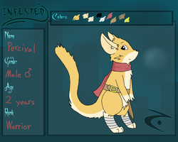 Infested - Resistance App: Percival by ChilaTheDragon