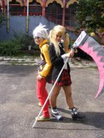 _Maka And Soul_ by Redzs00