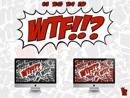 WTF WALLPAPER by itsNAMELEZ