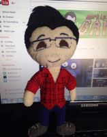 Markiplier Plushie by MCorbran23
