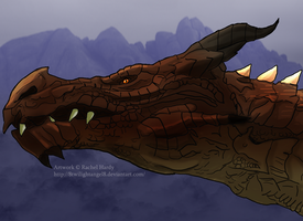 The Mighty Dovah by 8TwilightAngel8
