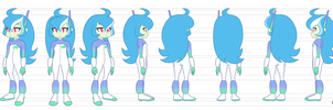 EV Model Sheet by MegaSweet
