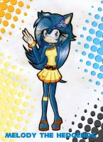 :AT: Melody the Hedgehog by AeternumLuminis