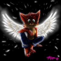 Crash Bandicoot archangel by Tatujapa