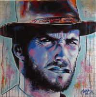 Clint Eastwood by pErs