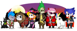 ||Happy Hallowe'en!!||: The Candy Raid by The-PaperNES-Guy