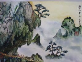 Chinese Painting by WeiLok93