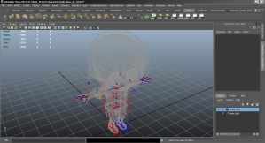 my client project 3 rigging by mon82
