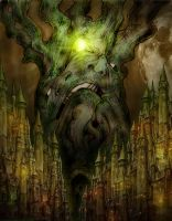 The God Tree by Ajulianm