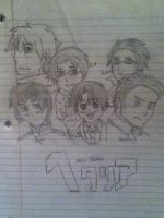 Hetalia sketch by mrrightlyrics