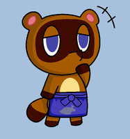 Tom Nook by paokamon