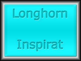 Longhorn Inspirat Glass blue by WolfvanWhite
