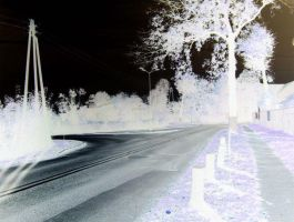 Some street in negative by bibi-wish