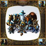 Toon Tower Scuffle Blue Team by Emortal982