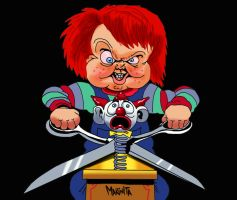 Chucky 2 by Makinita