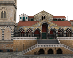 villiage church or town center by madetobeunique