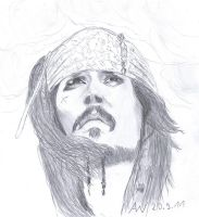 Johnny Depp-The Captain by BonBon95