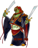 Ganondorf WW -Art Collab- by tavington