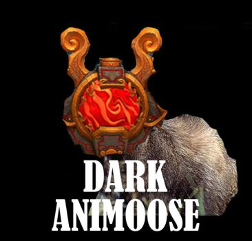 Dark-animoose by TheUnrealMido