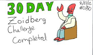 Zoidberg Challenge Day 30 by SickSean