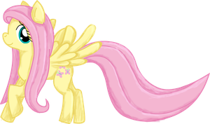Fluttershy doodle by clyvore