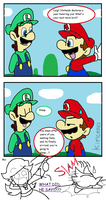 What Will Luigi Do? by Kincello