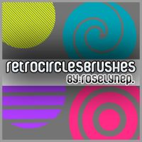 RetroCircle.Brushes by roseprieto