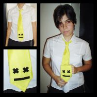 Smile Necktie by antareschan