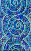 blue spirals edited by santosam81
