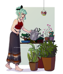 Take care of our plants by HetteMaudit