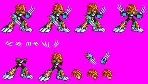 MvC Slash Man Sprite Sheets by Greasy-LucarioYun