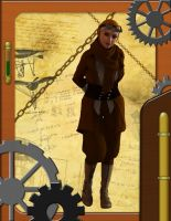Steampunk muslimah by Allocer2009