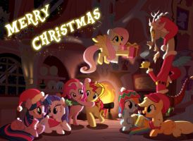 Happy Merry Christmas 2014 everybody by Light262