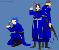 Military Siblings by TheSaviorAlchemist