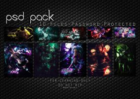 PSD Pack #1 by Madam-Shyarly