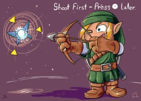 Shoot First, Press C Up Later by DocWario