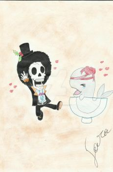 chibi brook e lovoon by sunny-brook