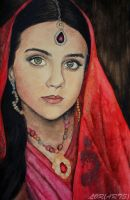 Indian girl by LORMarie44