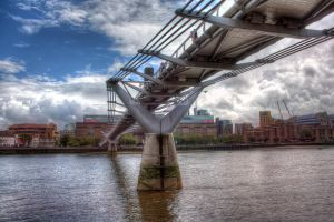 MILLENIUM BRIDGE by Marktee
