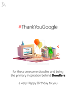 Thank You Google #10 by Ebong-Doodlers