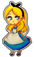 DIS: Alice in Wonderland by Perry-noid