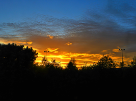 Sunset on a Monday -2- by IoannisCleary