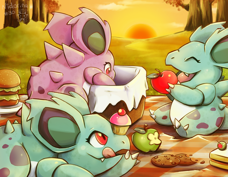 Girls' Picnic by Twime777