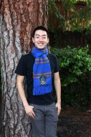 Ravenclaw Scarf by lavvy88