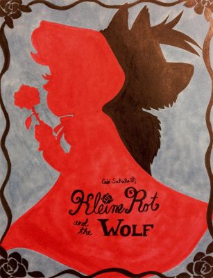 Kleine Rot and the Wolf Cover by GabiSaKuRa