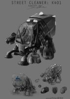 Street Cleaner by 0110100110