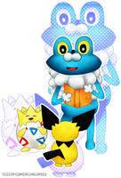 Froakie and Friends